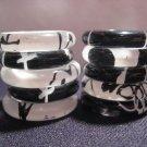 Lucite Rings - 10 Rings