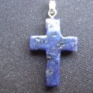 Hand Carved Jade Cross Pendant