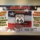 Route 66 Licence Plate Cover - Route 66 Picture Frame - Route 66 Magnet