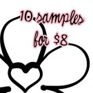 10 for $8 Sample Set ♥ Darling Girl Cosmetics Eye
