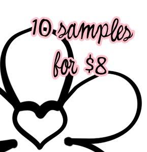 10 for $8 Sample Set � Darling Girl Cosmetics Eye