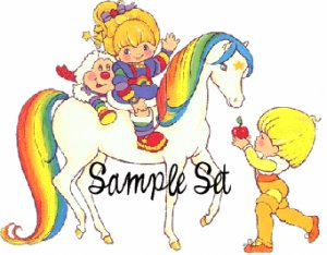 Rainbow Brite (sample set) � Darling Girl Cosmetics Eye Shadow