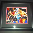Manny Pacquiao Autographed Hand Signed 8x10 Boxing Photo w/ Custom Frame