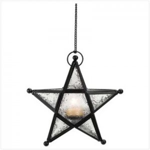 Metal Star Lantern - Free candles with purchase
