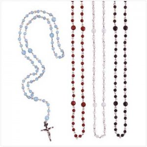 Antique Finish Rosary Beads (Set of 4)
