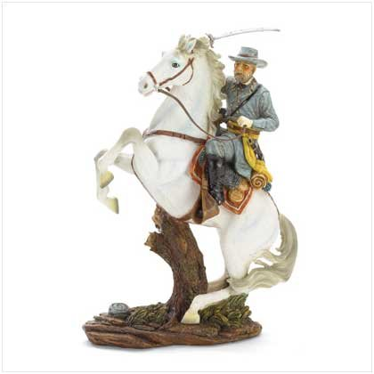 General Lee On Horse Figure