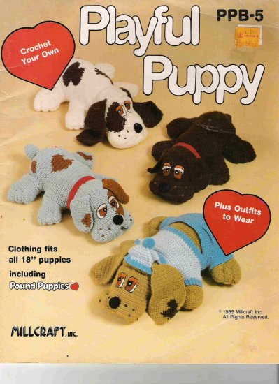 Crochet Your Own Playful Puppy