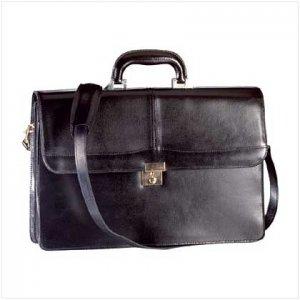 Fine Pigskin Leather Briefcase