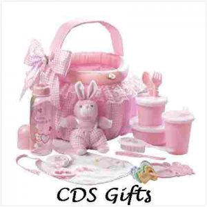 Baby Soft Gift Basket Set in Pink