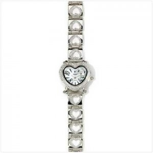 Diamonds Hearts Watch