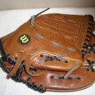 "WILSON PRO top grade LEATHER BASEBALL MITT 11"" Glove A1821 Pro 6 Righty NICE"