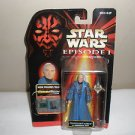STAR WARS Chancellor Valorum EPISODE I / 1 Figure HASBRO Commtech Chip NIP