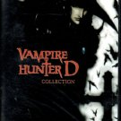 VAMPIRE HUNTER D & BLOODLUST [DVD] COMPLETE ENGLISH SET