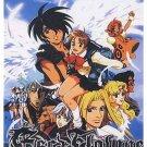 VISION OF ESCAFLOWN [4 DVD] TV+OVA COMPLETE ENGLISH SET