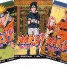 NARUTO PART 1,2,3 [9 DVD] TV EPS 1-76 LIMITED BOX SET