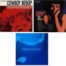 COWBOY BEBOP OST #1 #2 #3 Music CD SOUNDTRACK BUNDLE