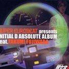 INITIAL D ABSOLUTE ALBUM FT. TAKUMI CD SOUNDTRACK