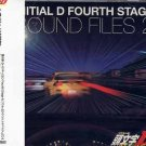 INITIAL D OST FOURTH STAGE SOUND FILES 2 CD SOUNDTRACK