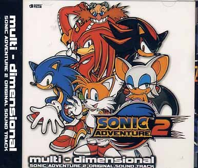 SONIC ADVENTURE 2 ORIGINAL MUSIC CD SOUNDTRACKS