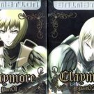CLAYMORE PART 1 + PART 2 [4-DVD]