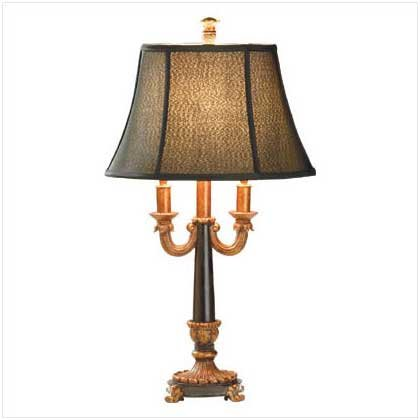 Double Arm Formal Table Lamp