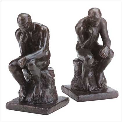 ALAB. THINKER BOOKENDS