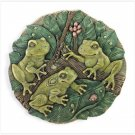 ALAB GARDEN FROGS PLAQUE