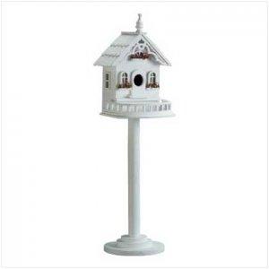 Wood Victorian Birdhouse/Feeder