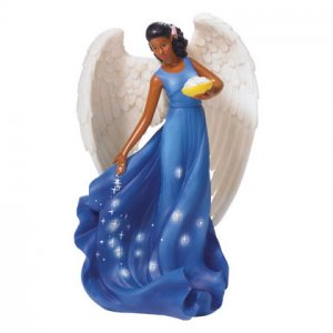 Angel with Stars Figurine
