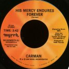 "CARMAN--""""HIS MERCY ENDURES FOREVER"""" (3:42)/""""INTRODUCTION TO 'HIS MERCY ENDURES FOREVER'"""" (4:00)"