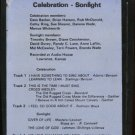 CELEBRATION - SONLIGHT--CELEBRATION - SONLIGHT 8-Track Tape