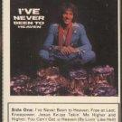 SAMMY HALL--I'VE NEVER BEEN TO HEAVEN Cassette Tape