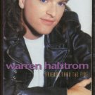 WARREN HALSTROM--FRIENDS THRU THE FIRE Cassette Tape (CANADA)