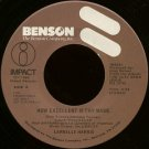 "LARNELLE HARRIS--""""HOW EXCELLENT IS THY NAME"""" (2:04) (BOTH SIDES STEREO) 45 RPM 7"""" Vinyl"