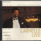 LARNELLE HARRIS--LARNELLE LIVE: PSALMS, HYMNS, AND SPIRITUAL SONGS Compact Disc (CD)