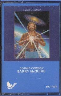 BARRY MCGUIRE--COSMIC COWBOY Cassette Tape