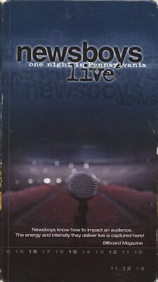 NEWSBOYS--ONE NIGHT IN PENNSYLVANIA VHS Video