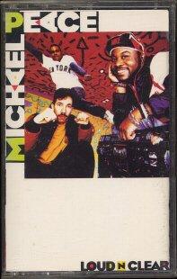 MICHAEL PEACE--LOUD 'N' CLEAR Cassette Tape
