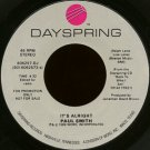 "PAUL SMITH--""""IT'S ALRIGHT"""" (4:32) (BOTH SIDES STEREO) 45 RPM 7"""" Vinyl"