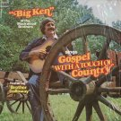 "KEN TURNER--""""BIG KEN"""" OF THE BLACKWOOD BROTHERS SINGS GOSPEL WITH A TOUCH OF COUNTRY Vinyl LP"