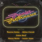 VARIOUS ARTISTS--PREMIER PERFORMANCE Vinyl LP