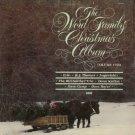 VARIOUS ARTISTS--THE WORD FAMILY CHRISTMAS ALBUM VOLUME TWO Vinyl LP