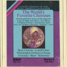 VARIOUS ARTISTS--THE WORLD'S FAVORITE CHORUSES 8-Track Tape