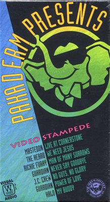 VARIOUS ARTISTS--VIDEO STAMPEDE VHS Video