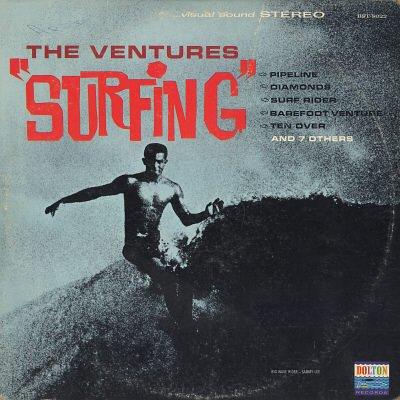 VENTURES--SURFING Vinyl LP