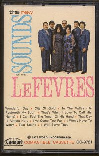 THE LeFEVRES--THE NEW SOUNDS OF THE LeFEVRES Cassette Tape