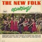THE NEW FOLK--UPRISING! Vinyl LP