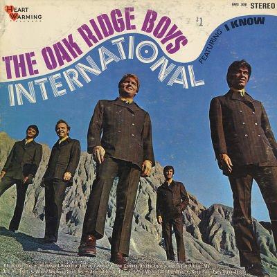 THE OAK RIDGE BOYS--INTERNATIONAL Vinyl LP