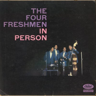 THE FOUR FRESHMEN--THE FOUR FRESHMEN IN PERSON Vinyl LP
