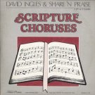 "DAVID INGLES & SHARE 'N PRAISE--Scripture Choruses Featuring ""Don't Shout Me Down"" 3-LP Set (Vinyl)"